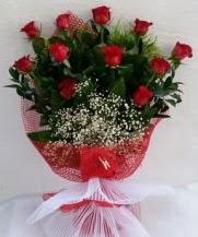 11 adet kırmızı gülden görsel çiçek  Hakkari çiçekçi telefonları