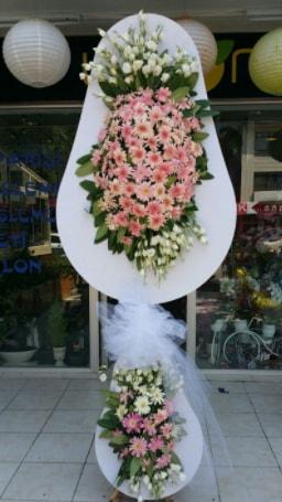 Çift katlı özel şahane sepet çiçeği  Hakkari çiçek gönderme