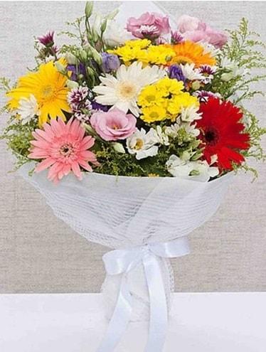 Karışık Mevsim Buketleri  Hakkari çiçek , çiçekçi , çiçekçilik