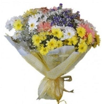 Karışık mevsim çiçeği  Hakkari çiçekçi telefonları