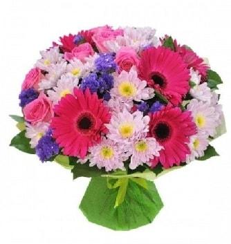 Karışık mevsim buketi mevsimsel buket  Hakkari çiçekçi telefonları