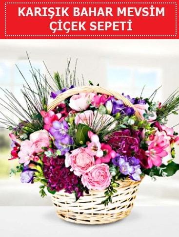 Karışık mevsim bahar çiçekleri  Hakkari çiçek , çiçekçi , çiçekçilik